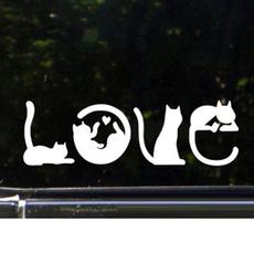 cute, Love, glasssticker, Car Sticker