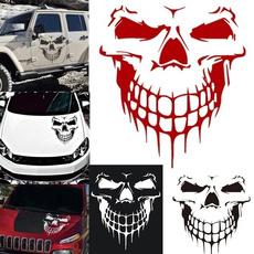 skull, Waterproof, Cars, Wall Decal