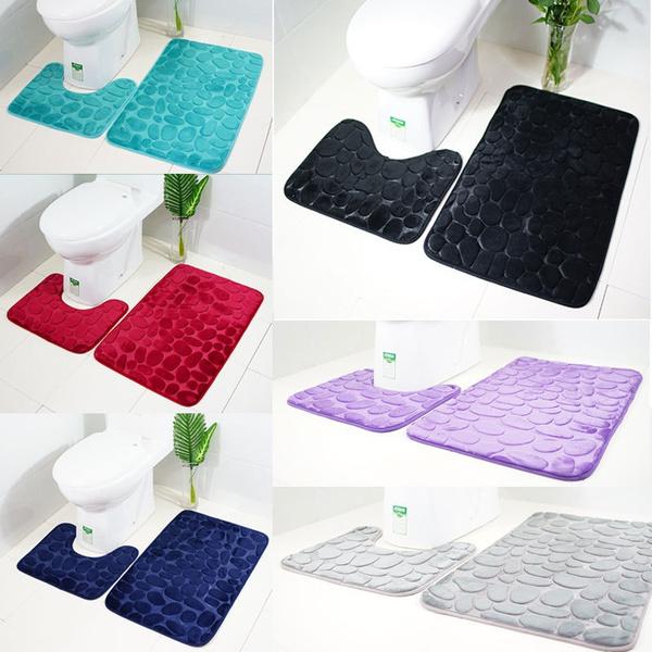 showerrug, Bathroom, rugstoiletcover, toiletmat