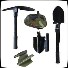 Steel, snowshovel, camping, Hiking