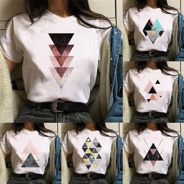 Shorts, Shirt, womenprintedtshirt, Tops