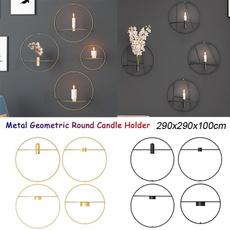 geometriccandlestick, Candleholders, Decor, roundcandleholder