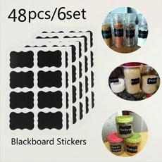 Craft, Kitchen & Dining, blackboardstickerslabel, labelsticker