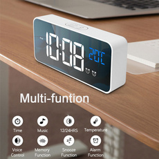 Set, led, Clock, of