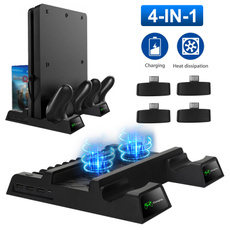 dualcontrollercharger, Video Games, Console, playstation4