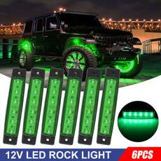 Decor, ledrocklight, lightdecorforcar, Waterproof
