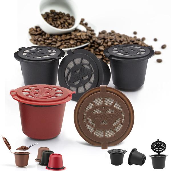 capsulefiltercup, Coffee, coffeecapsulepodscup, reusablecoffeecapsulecup
