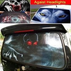 3dhorrorsticker, rearwindshieldsticker, Cars, Stickers