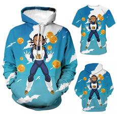 Mens T Shirt, 3D hoodies, Dragon Ball Z, boondocksaiyan