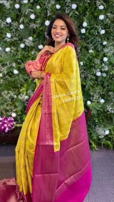 Beautiful, saree, Bold, kanchipuramsaree