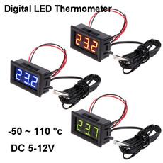 aquariumthermometer, led, temperaturemonitor, temperaturepanelmeter