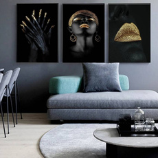Home & Kitchen, art, blackwoman, Wall Art
