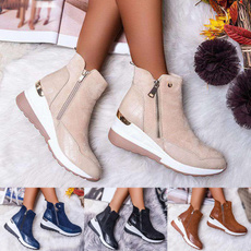 ankle boots, wedge, Снікери, boots for women