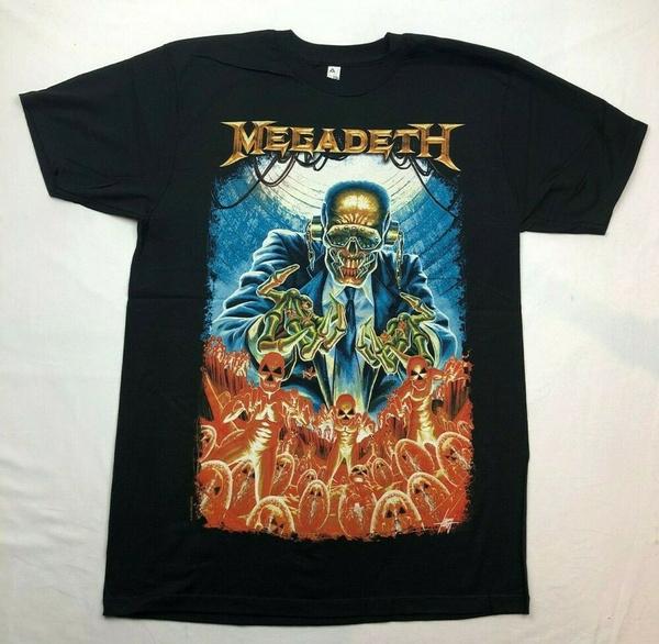 Print, T Shirts, Men, black
