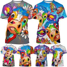 Summer, Fashion, Necks, cow