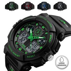 Fashion, led, Army, wristwatch