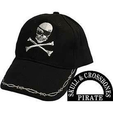 Cap, Baseball, skull, Bones