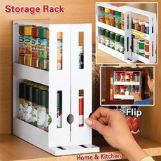 rotatingstoragerack, Kitchen & Dining, bathroomrack, multifunctionrotating