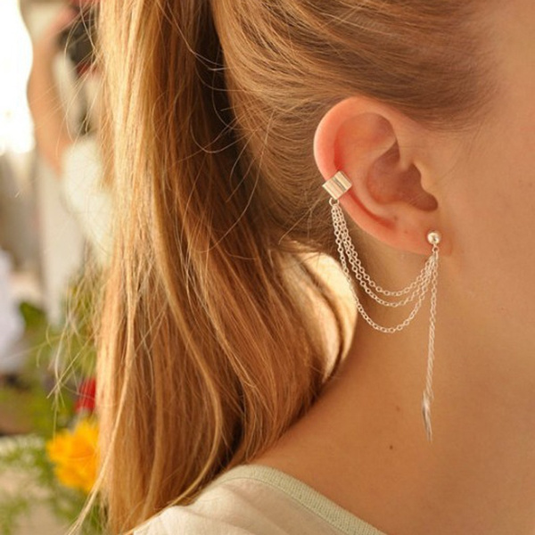 tasselsearring, Fashion Accessory, leaf, Jewelry