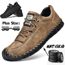 casual shoes, Plus Size, leather shoes, Shoes
