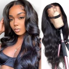 wig, Women, Fiber, Curly Hair