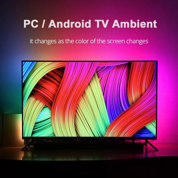 LED Strip, led, Monitors, TV