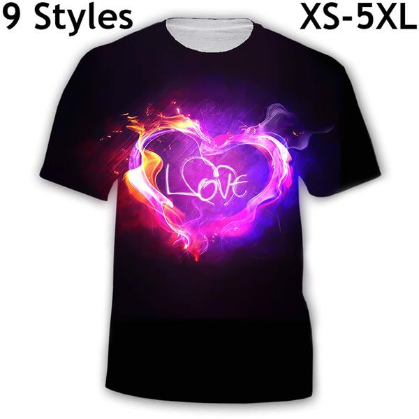 Mens T Shirt, Shorts, Love, Shirt