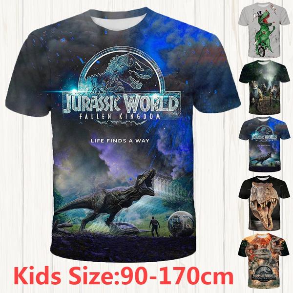 Dinosaur 3D Boys//girl T-shirt Kids Short Sleeve