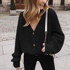 Autumn, cardigan, Outerwear, Cable