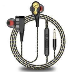 Microphone, Ear Bud, Earphone, Bass