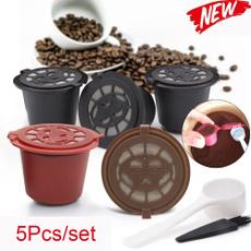Machine, capsulefiltercup, Coffee, reusablecoffeecapsulecup