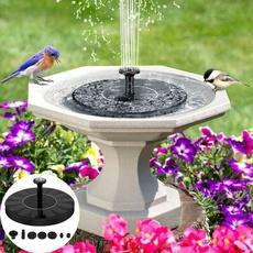 water, birdbathfountain, Outdoor, aquariums