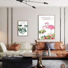 Turtle, Plants, Modern, art