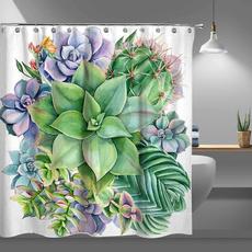 Shower, Bathroom Accessories, Waterproof, Shower Curtains