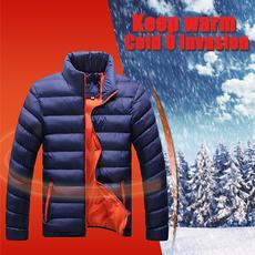 Stand Collar, Jacket, Fashion, Winter