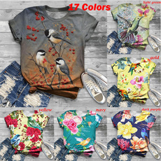 cute, Funny T Shirt, Floral, Graphic T-Shirt
