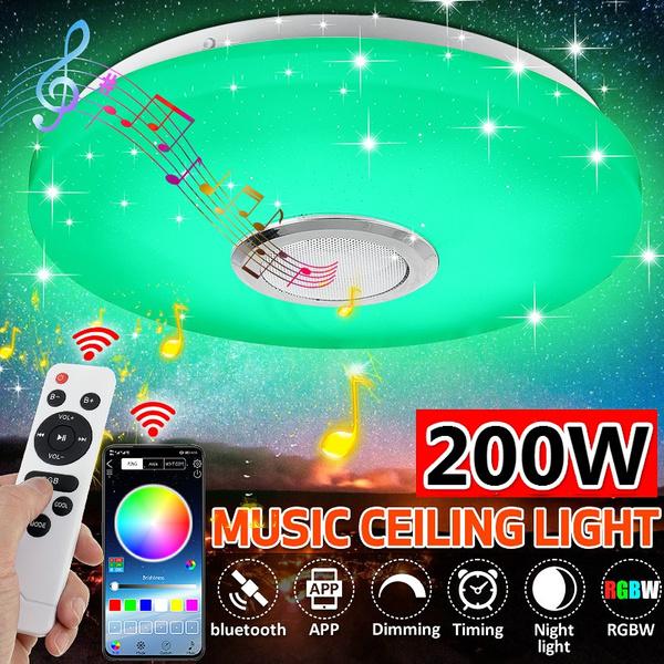 flatledlight, livingroomlamp, ledceilinglight, Speakers