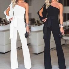 Fashion, pants, Pure Color, Overalls