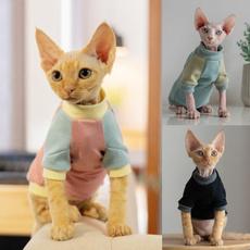 autumnwinter, Vest, small pet clothes, Cat costume