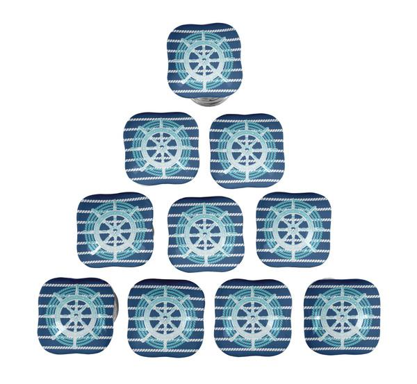 Blues, Door, Home & Living, Ceramic