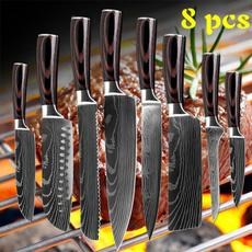 Kitchen & Dining, knivesset, Laser, Japanese