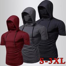 Mens T Shirt, hooded, Hoodies, Sleeve
