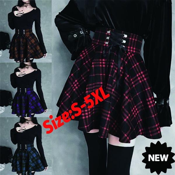 Mini, Goth, Shorts, Lace
