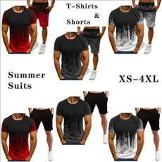 Summer, Shorts, Fashion, Sleeve
