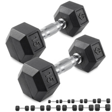 New, High Quality, castironhexdumbell, Iron