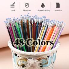 Pastels, sketch, colorfulpen, Cartridge