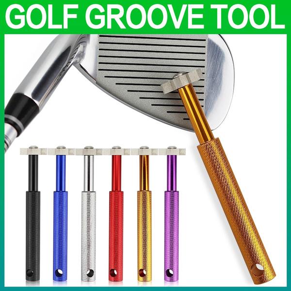 wedge, Blade, Golf, golfgroovetool