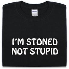 stupid, Shirt, dope, marihuana