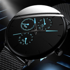 Steel, Clock, wristwatch, Stainless Steel