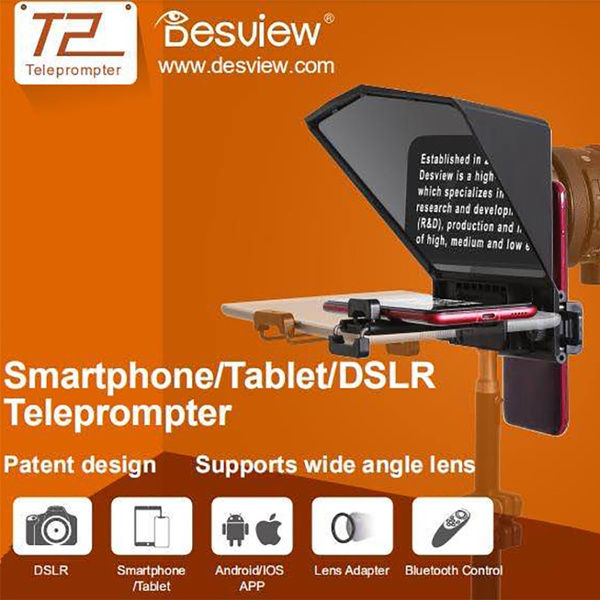 ipad, DSLR, for, teleprompter